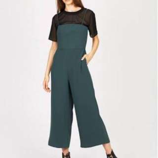 Alice in the eve Stacey strap jumpsuit clover size 12