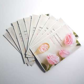 It's Real Squeeze Rose Fask Mask - Innisfree (10 sheets)