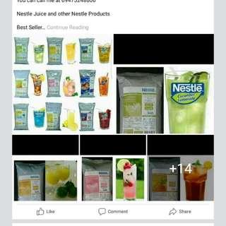Nestle Tea and Lemonade