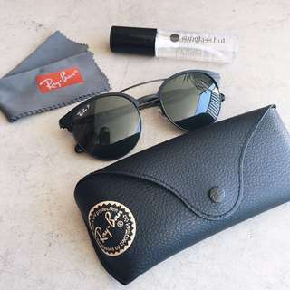 Authentic RayBan Black Polarized Sunglasses
