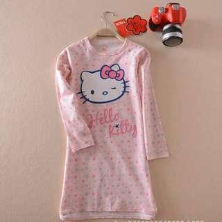 Kitty dress (2-4 ,4-6,6-8y)