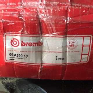 全新E60 535 brembo 前碟盤 7000不議價