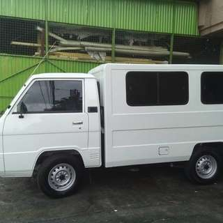 L300 with aircon for rent
