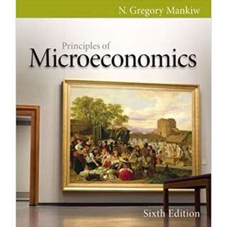 Principles of microeconomics 6th edition by N.Gregory Mankiw (e-book)