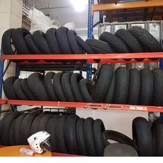 Used Motorcycle Tyres