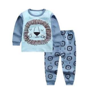 Pajamas for boys cute lion 110cm
