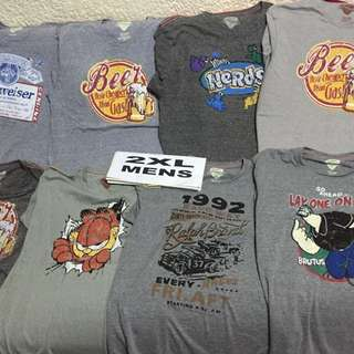 2xl  vintage tees for him