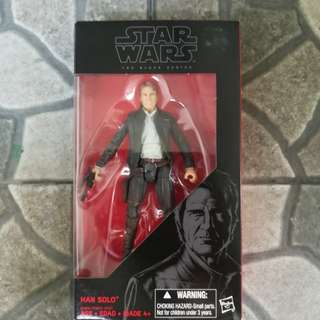"6"" Star Wars - Black Series: Han Solo (The Force Awakens)"