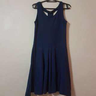 Folded n' Hung Skater Dress