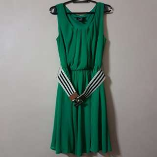 Green Dress (with Belt)