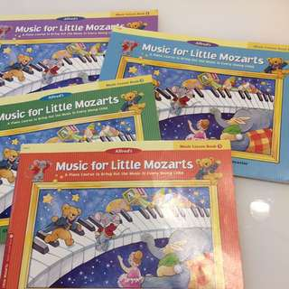 Music for Little Mozarts Lesson Book 1-4