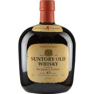 日本 明星威士忌 suntory old whisky 壽