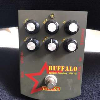 Buffalo Speaker Simulator with DI to Amp
