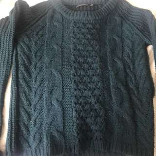 Portmans Teal Knit Jumper