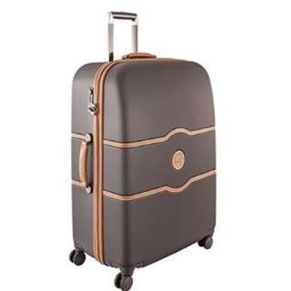 """Delsey Luggage Suitcase Chatelet Hard+ 28"""" 28 inch 4 Wheel Wheeled Spinner Business Travel Bag"""