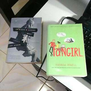 Thirteen Reasons Why and Fangirl