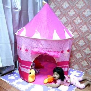 Pinky Castle Tent