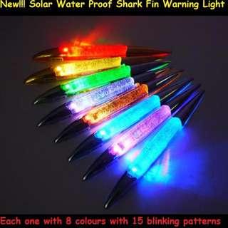 Car Shark Fin Solar LED Multi Function Warning Light(Upgrade Version)