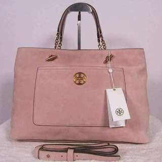 TORY BURCH CHELSEA SATCHEL SUEDE BAG/ Authentic >>> PLEASE READ Bio and Product details carefully