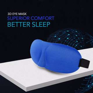 [Free Mail] Travel Eye Mask/ Blindfold/ Pad/ Cover/ Sleep Patch/ Shade/ Blinders/ Sleeping/ Blackout Face Mask [R740Y1090SC450N550]