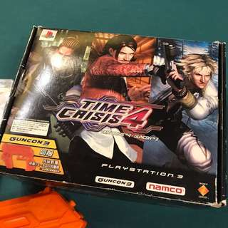 PS3 Classic- Time Crisis Box Set (90% new)