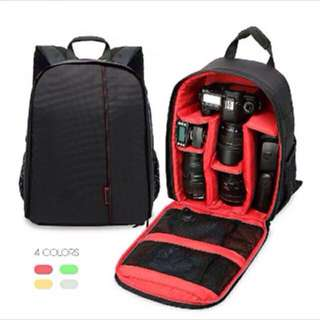 DSLR Camera Padded Backpack Bag Case Waterproof Shockproof Small Bags for Canon Nikon Sony