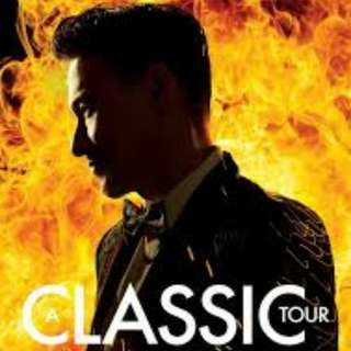Jacky Cheung A Classic Tour. 2x CAT 2 tickets on 9 Feb 2018, 8pm. Seating: Level 2, Section 234, Row 23, Seat 5 and 6