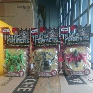 Transformers Movie RotF EZ Collection Devastator Set Of 3 Mixmaster Scavenger & Longhaul by Takaratomy MOSC