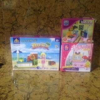 Lego girls 3pcs sale!!!!