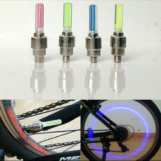 1 Pair New LED Bicycle Lights Wheel Tire Valve's Bike Accessories Cycling Led Bycicle Accessories Light 💡💡💡💡