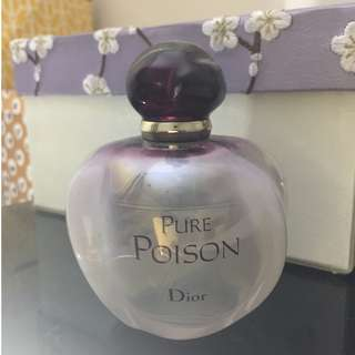 Dior Pure Poison 100ml genuine demonstrator bottle