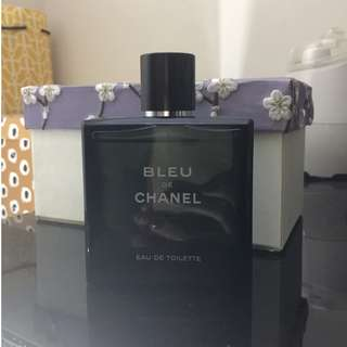 Bleu de Chanel Eau de Toilette 100ml demonstrator bottle