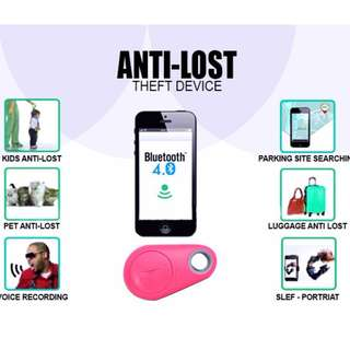 Anti Lost theft Device Bluetooth iTag Tracker Child Pet Bag Wallet Key Finder GPS Locator Alarm