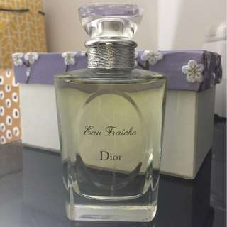 Christian Dior Eau Fraiche Eau De Toilette Spray 100ml