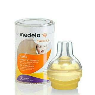 Medela Nipple Calma (Dot) like NEW - Box lengkap