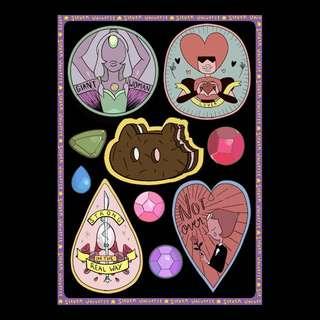 Steven Universe Sticker Pack ( isi 10 sticker)