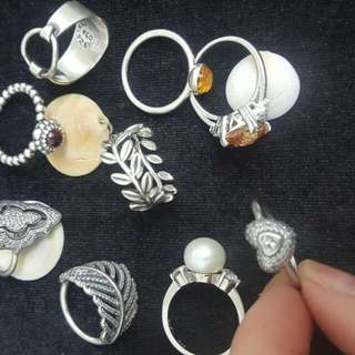 ASSORTED RING COLLECTION