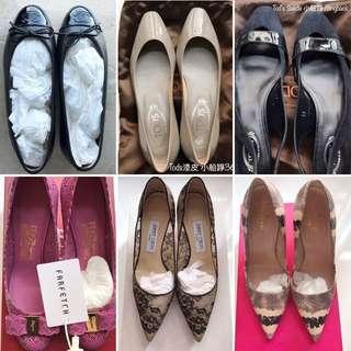 Tod's / Chanel / Jimmy Choo / Ferragamo / Kate Spade
