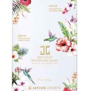 Jayjun anti dust whitening mask pack