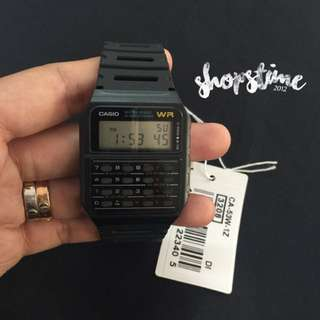 Casio Ca53w-1z Rubber Calculator Watch