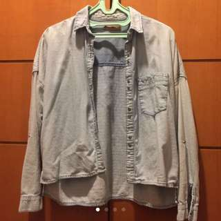 Pull & Bear (Authentic) Pretty Denim Outer size M