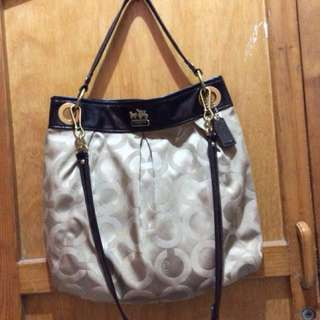 Authentic coach sling /shoulder bag