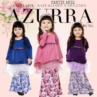 EXCLUSIVE AZURRA KURUNG KIDS