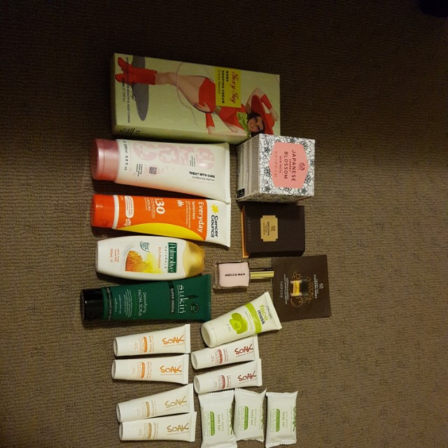 19 piece Variety; Mecca Max + The Body Shop ETC