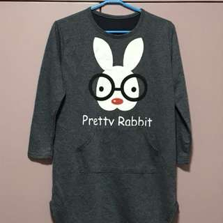 Rabbit Sweater Dress
