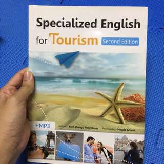 specialized english for tourism 旅遊英文 附CD