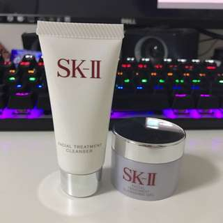 SK II - facial treatment cleanser & cleansing gel