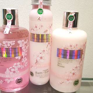 Cherry Blossom 3 Btls Set
