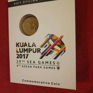 KL2017 SEAGAMES Commemorative Coin