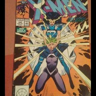 Xmen comic book
